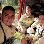 Bezirks Waldbrandübung im Ahrental