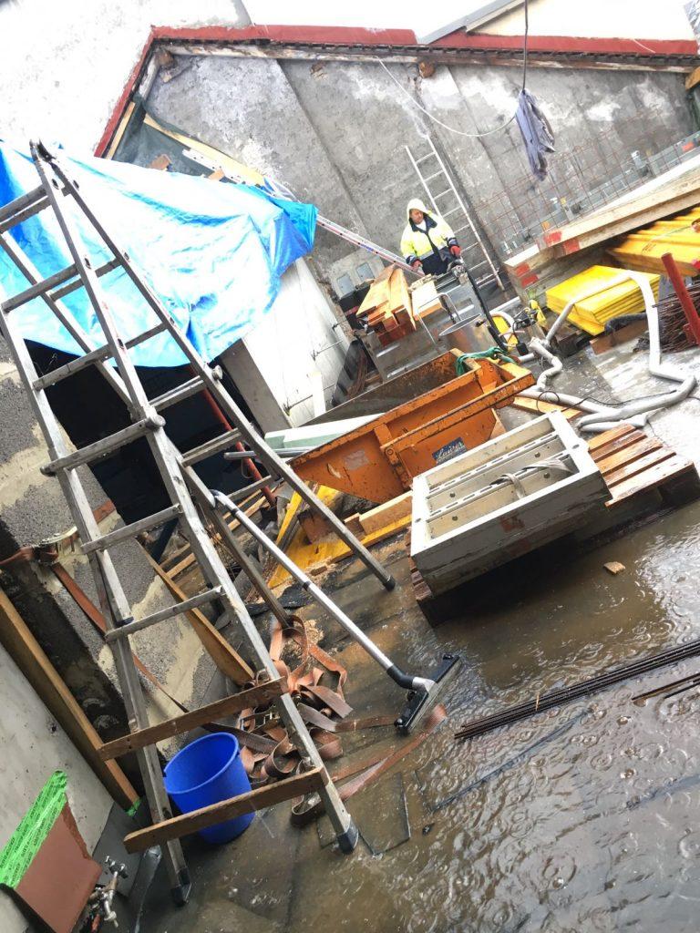 Dachboden Speckbacherstraße Wasser
