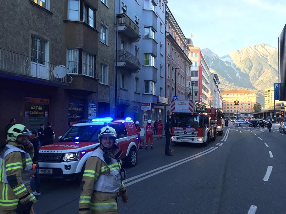 Waschmaschine brannte in der Sterzingerstraße