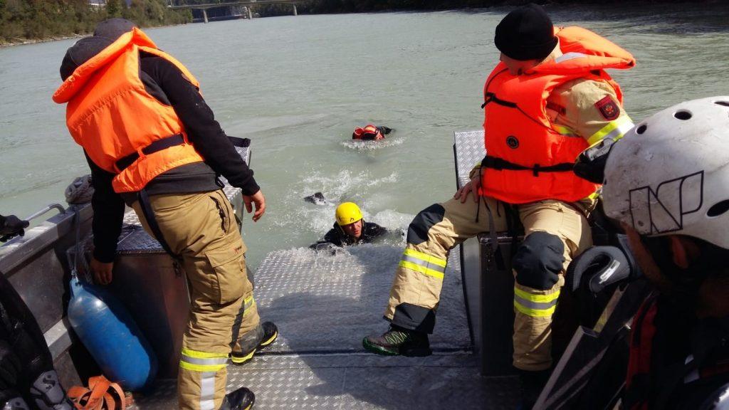 Rettungsschwimmer in Kufstein
