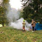 [Einsatz] Waldbrand am Mentlberg