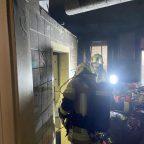 Gebäudebrand am Innrain